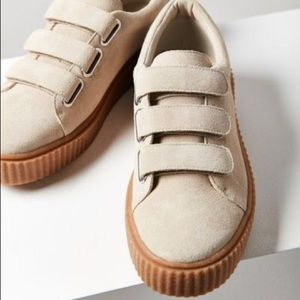 Holly Three-Strap Creeper Sneaker
